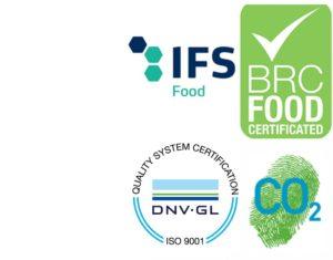 logo certificats et label moulin de loma 2