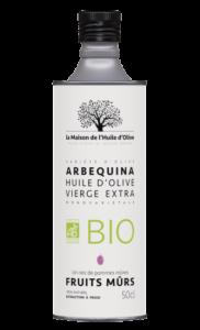 Huile d'olive bio Arbequina